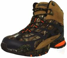 NIB MENS WATERPROOF BUSHNELL STALK MID HUNTING BOOTS - 9.5 - REALTREE AP CAMO