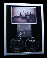 YOU ME AT SIX+SIGNED+FRAMED+CAVALIER YOUTH+BREATHE=100% GENUINE+FAST GLOBAL SHIP