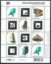 NVPH V 2802-2812  STAD VAN NEDERLAND 2011 postfris