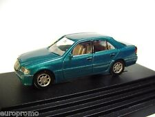 1:87 WIKING 1997 MERCEDES BENZ C-Class (W202) sedan green RARE PROMO MODEL !!