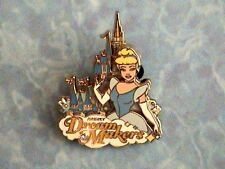 CINDERELLA DREAM MAKER IN FRONT OF MAGIC KINGDOM CASTLE PIN ON PIN  WDW PIN NEW