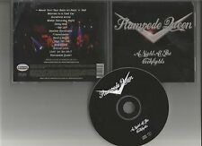 STAMPEDE QUEEN A night at the cockfights CD MELODIC ROCK Perris 2004 Blanc Faces