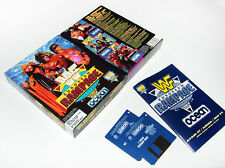 AMIGA :: WF EUROPEAN RAMPAGE :: by ocean 1992 |BIG BOX| COMMODORE game, Spiel