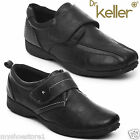 DR KELLER WOMENS VELCRO STRAP SHOES LADIES FLAT LOW WEDGE COMFORT CASUAL LOAFERS