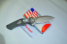 KERSHAW 1725  JUNKYARD DOG II  GALYEAN DESIGN EARLY RELEASE OCT 07 MADE IN USA