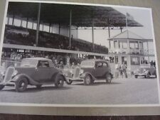 1934 FORD ON DISPLAY AT RACE TRACK? INDY 500   12 X 18 LARGE PICTURE   PHOTO