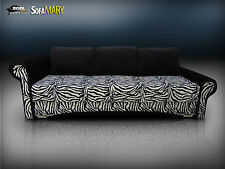 SUPER HIT! QUEEN SIZE SOFA BED 'MARY' ZEBRA! MOWIMY PO POLSKU!