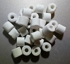 Fish Aquarium Water Ceramic Ring Filter Media 20 pieces Ceramic Rings
