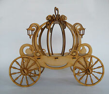15 x Cinderella carriage 3d puzzle laser cut mdf fiberboard tablecenter XV años