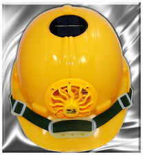 Ultimate Version Solar Cooling Fan Safety Helmet Hard Hat/Cap
