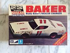 1/25 Buddy Baker 1971 Petty NASCAR Charger By MPC In Open But In Original Bags