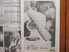 May 21, 1995 New York Times TV Mag(CARLY  SIMON/SHERILYN  FENN/ELIZABETH  TAYLOR