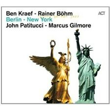 "Ben kraef & Rainer Böhm ""Berlin-New York"" CD NUOVO"