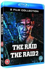 THE RAID 1 AND 2 - BLU-RAY - REGION B UK