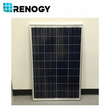 Open Box 100Watts 12V Renogy Poly Solar Panel for RV Boat Camping Fair Condition