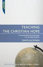 TEACHING THE CHRISTIAN HOPE NEW PAPERBACK BOOK