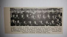Rollins College Winter Park Florida 1921 Football Team Picture