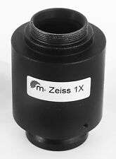 CARL ZEISS MICROSCOPE - 30MM PHOTOTUBE TO 'C' MOUNT 1X ADAPTER