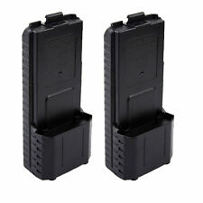 2X BAOFENG AAX6 Extended Battery Case/Shell for Radio BF-UV5R TONGFA TYT TH-F8