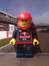Lego Custom Minifigure Daniel Ricciardo Red Bull Racing F1