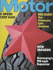 Motor magazine 31/3/1979 featuring Colt road test, Mercedes bb, Jaguar