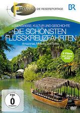 DVD La Più belle Crociera sul fiume di Wanderlust Br i Rivista di viaggi 3DVDs