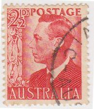 (W732) 1950 AU 2½d red KGVI (C)