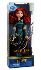 "NEW Disney Store Exclusive 17"" Brave Princess Singing Merida Doll Bow & Arrow"