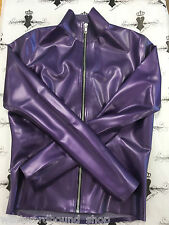 R476 Mistress Top *New Collection* size 8 Pearlsheen Purple RUBBER Latex