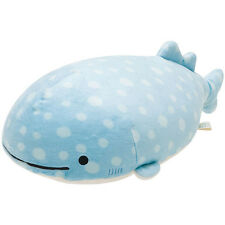 San-X Jinbei-San Plush (M) Super MochiMochi Kawaii Whale Shark Doll Japanese Toy