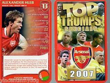 Top Trumps Arsenal Football Club 2007 classico gioco di carte