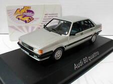 """NOREV 830028 # Audi 80 GTE Quattro Baujahr 1985 in """" silber-metallic """" 1:43 NEU"""