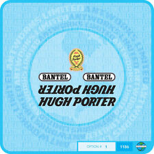 Hugh Porter Decals - Transfers - Stickers - Set 1