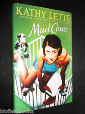 SIGNED; Mad Cows by Kathy Lette (Hardback, 1996-1st) Women's Fiction, Humour