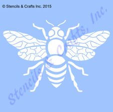 """5"""" BEE STENCIL BEES BUG WINGS WING STENCILS TEMPLATE TEMPLATES PATTERN CRAFT NEW"""