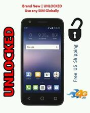 NEW AT&T UNLOCKED GoPhone Alcatel Ideal 4G LTE with 8GB Memory Prepaid