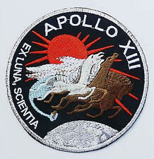 APOLLO 13 - N.A.S.A. Crew Embroidered Crew Logo Patch - NASA Space Programme USA