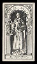 """santino-holy card""""S.ANTONIO DA PADOVA-RAVENNA"""