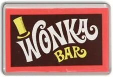 WONKA BAR FRIDGE MAGNET - RETRO FRE POSTAGE