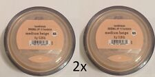 PACK OF 2  Bare Minerals Escentuals SPF 15 Foundation MEDIUM BEIGE - N20 8g XL