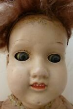 Antique Giebler-Falk Doll Metal Head, Wooden Body. Marked Fully Jointed