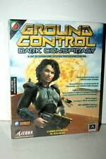 GROUND CONTROL DARK CONSPIRACY ESPANSIONE NUOVA PC ED ITA PAL BIG BOX GD1 35440