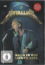 Metallica: Rock in Rio Lisbon 2004  (DVD)  NEW