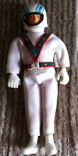 """VINTAGE 5.5"""" EVEL KNIEVEL ACTION FIGURE WITH HELMET IDEAL 1970s"""
