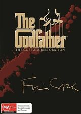 THE GODFATHER TRILOGY Coppola Restoration : NEW 3-DVD