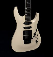 Kramer SM-1 EMG Floyd Rose Electric Guitar - Vintage White