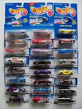OLDER HOT WHEELS LOT 24 OLDS 442 PURPLE PASSION CORD '59 CADILLAC LEXUS FORD NIP