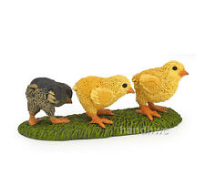 Papo 51163 Chicks Model Baby Chickens Bird Fowl Farm Figurine Toy Gift - NIP