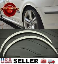 """1"""" Arch Extension White Diffuser Protector Guard Fender Flares For VW Porsche"""