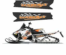 POLARIS RUSH PRO RMK 700 800 INDY ASSAULT 120 155 163 TUNNEL DECAL STICKER 16